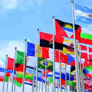WORLD FLAGS AND COUNTRY - 34 Meticulous All Countries Flag